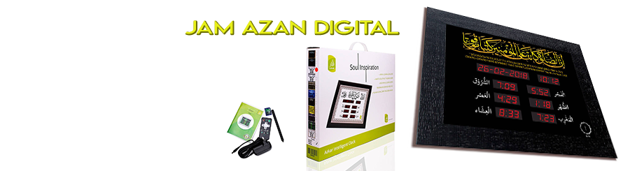 Jam Azan Digital SAFAA